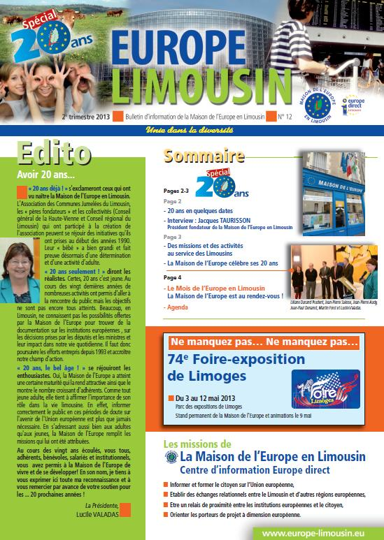 Europe Limousin 12 page 1