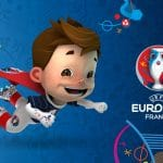 Logo mascotte Euro 2016
